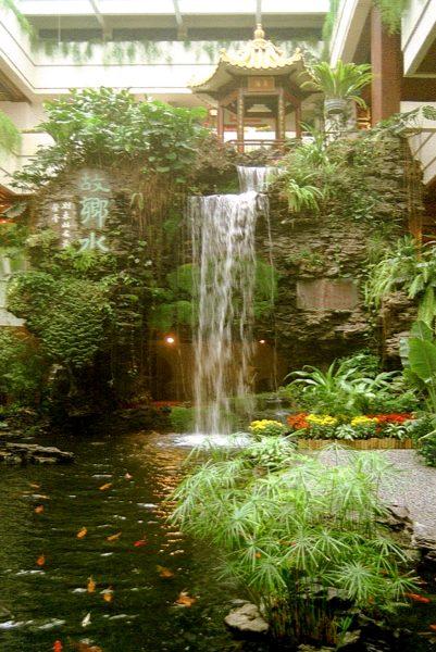 Gartenteich wasserfall for Wasserfall teich